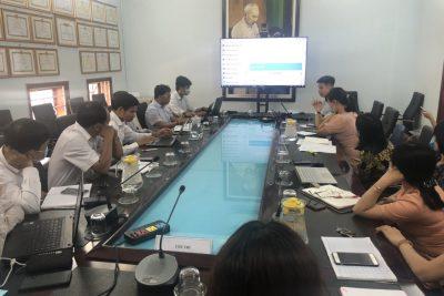 Hội nghị tập huấn nâng cấp phần mềm ioffice và triển khai công tác CCHC năm 2021